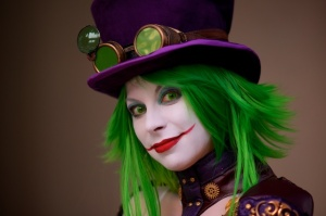 A quick Duela Dent portrait on an Atlanta street corner for DragonCon 2013