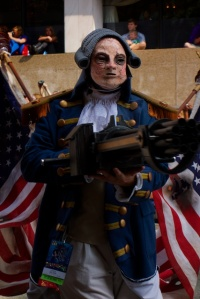 The Motorized Patriot from Bioshock Infinite