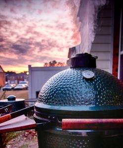 Colossal Verdant Furnace at Sunset