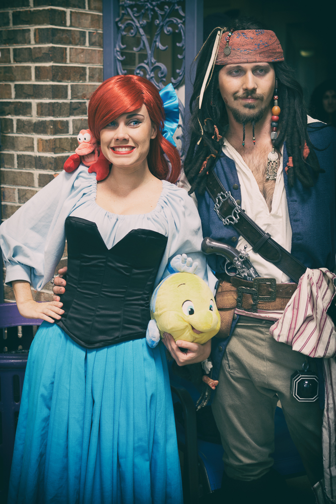Ariel & Captain Jack