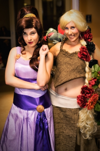 Meg from Hercules and Khaleesi From Game of Thrones