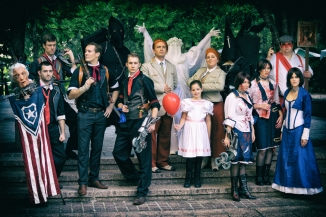 The Bioshock Infinite group shot.