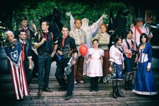 The Bioshock Infinite group shot.