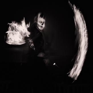 Fire Dancing Devil